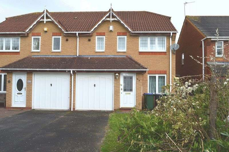 3 Bedrooms Semi Detached House for sale in David Peacock Close, Tipton