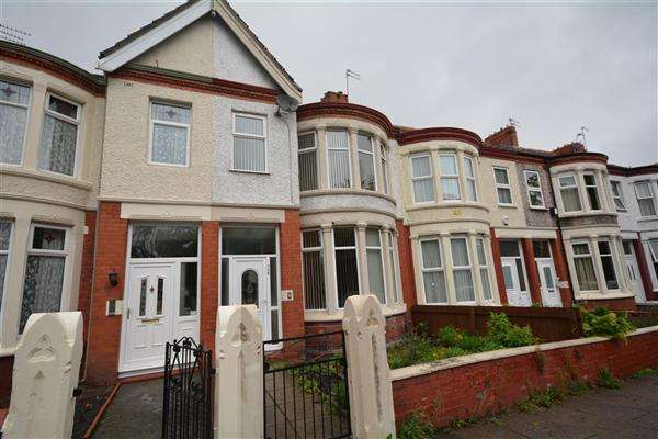 3 Bedrooms Terraced House for sale in Park Road North, Birkenhead