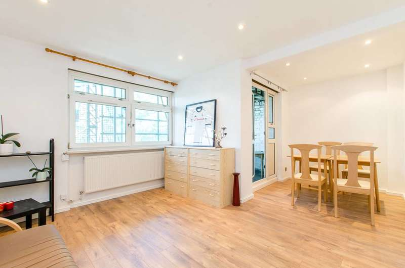 3 Bedrooms Maisonette Flat for sale in Warner Place, Bethnal Green, E2