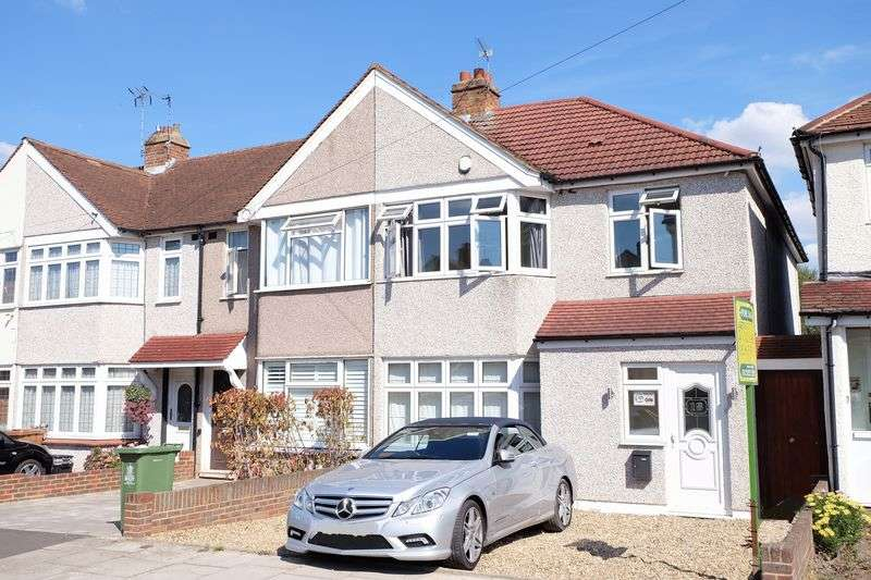 3 Bedrooms Semi Detached House for sale in Shirley Avenue, Bexley