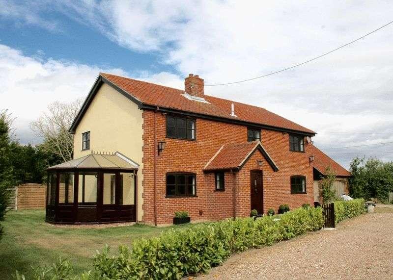4 Bedrooms Detached House for sale in Denham, Eye