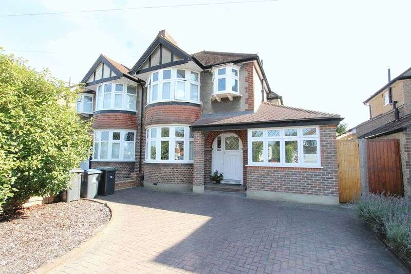 4 Bedrooms Semi Detached House for sale in The Manor Drive, Worcester Park