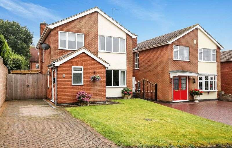 3 Bedrooms Detached House for sale in Fosbrooke Close, Ravenstone, LE67 2AB