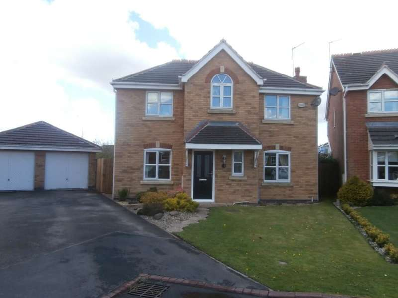 4 Bedrooms Detached House for sale in Palmerston Close, Hindley, Wigan, WN2
