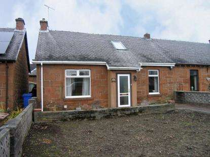 3 Bedrooms Semi Detached House for sale in Bank Avenue, Cumnock, East Ayrshire
