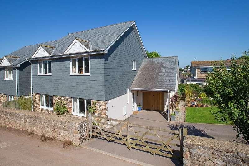 3 Bedrooms Detached House for sale in 3 Western View, Weston Lane, Totnes
