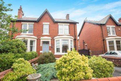 5 Bedrooms Semi Detached House for sale in Elms Avenue, Lytham St. Annes, Lancashire, FY8