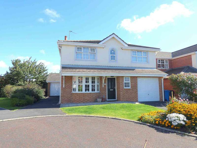 4 Bedrooms Detached House for sale in Pintail Way, Cypress Point, Lytham