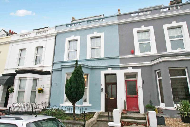 5 Bedrooms Terraced House for sale in Sea View Terrace, Lipson, PL4 8RN