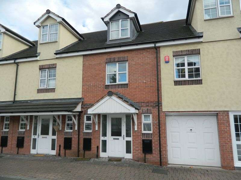 3 Bedrooms Terraced House for sale in Manorhouse Close, Walsall