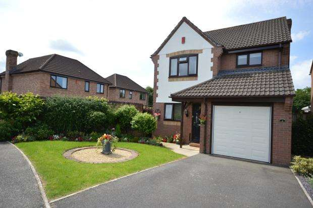 3 Bedrooms Detached House for sale in The Oaks, Bovey Tracey, Newton Abbot, Devon