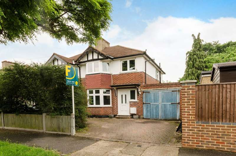 3 Bedrooms Semi Detached House for sale in Oakleigh Avenue, Tolworth, KT6