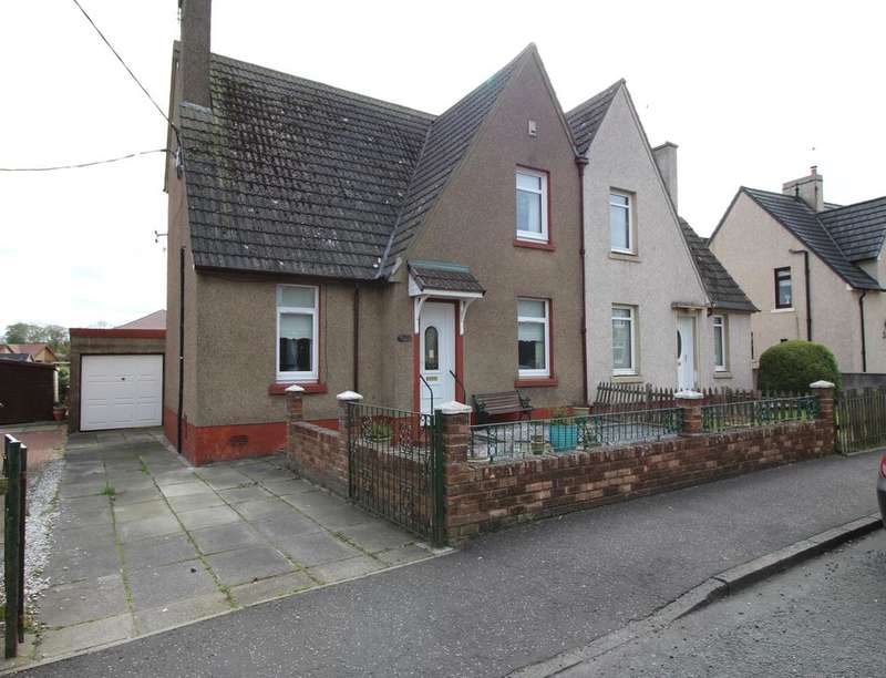 3 Bedrooms Semi Detached House for sale in Cuthill Crescent, Stoneyburn, Bathgate, EH47
