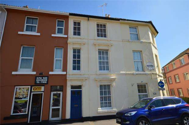 1 Bedroom Flat for sale in Brunswick Street, Teignmouth, Devon