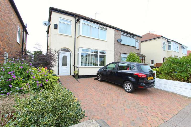 3 Bedrooms Semi Detached House for sale in Mayfair Avenue, Huyton, Liverpool