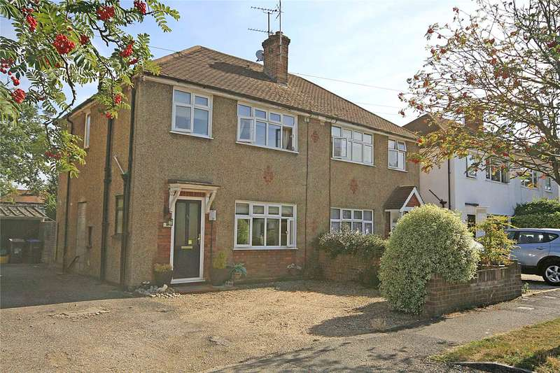 3 Bedrooms Semi Detached House for sale in Holly Avenue, New Haw, Addlestone, Surrey, KT15