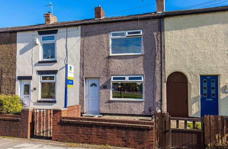 2 Bedrooms Terraced House for sale in Leigh Road, Hindley Green, Wigan
