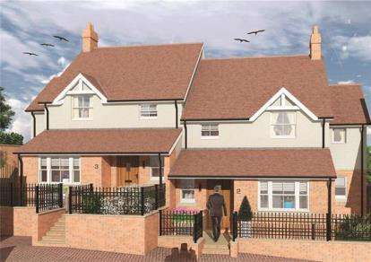 4 Bedrooms Semi Detached House for sale in The Sidings, Station Terrace, Buckingham
