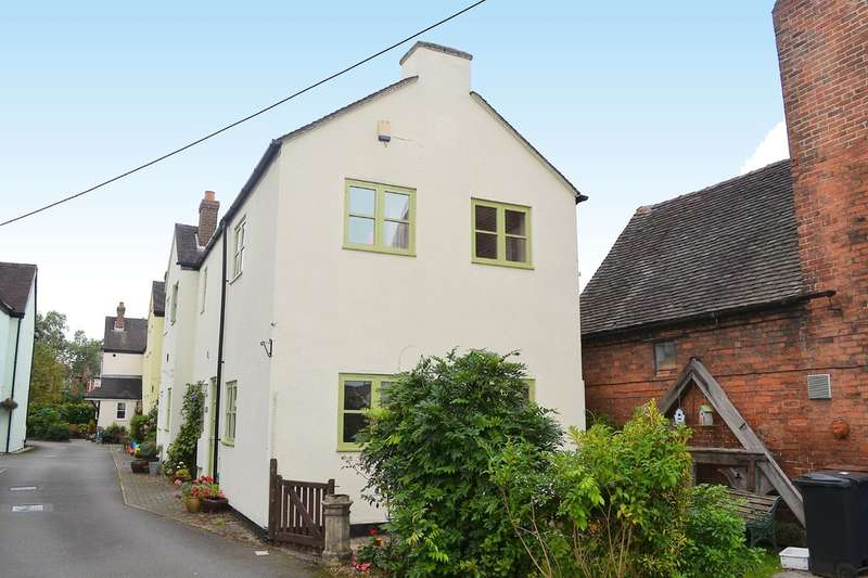 3 Bedrooms End Of Terrace House for sale in Whitehart Mews, Alrewas, DE13 7AD