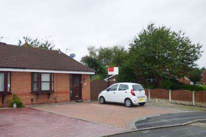 2 Bedrooms Semi Detached House for sale in Livingstone Close, Old Hall, Warrington, Cheshire