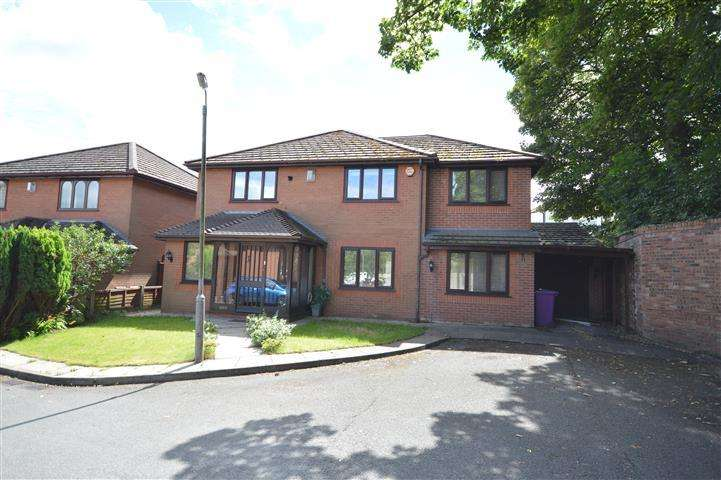 4 Bedrooms Detached House for sale in Glenville Close, Woolton, Liverpool, L25