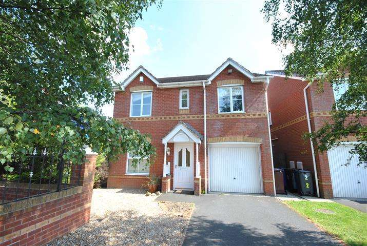 4 Bedrooms Detached House for sale in Heydon Close, Halewood, Liverpool, L26