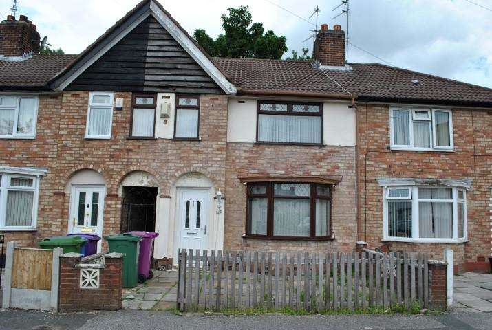 3 Bedrooms Terraced House for sale in Alstonfield Road, Liverpool, L14