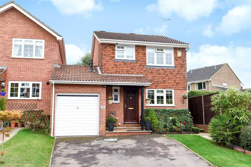 3 Bedrooms Link Detached House for sale in Dovedale Close, Owlsmoor, Sandhurst, Berkshire, GU47