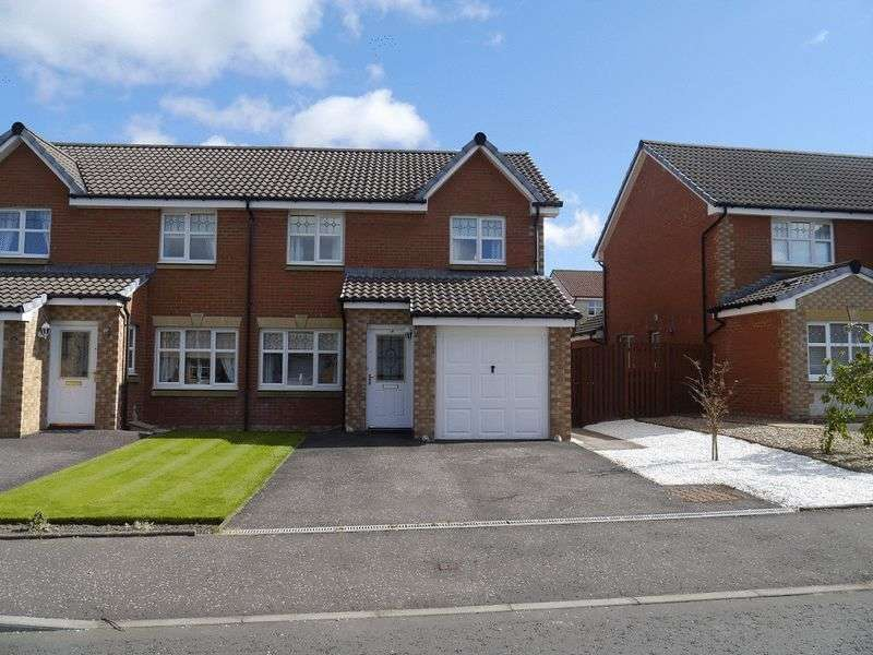 3 Bedrooms Semi Detached House for sale in Glen Shee Gardens, Carluke