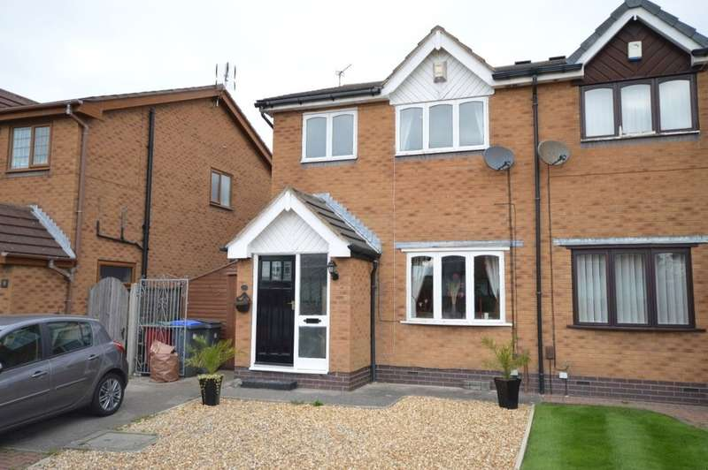 4 Bedrooms Semi Detached House for sale in Askrigg Close, Marton
