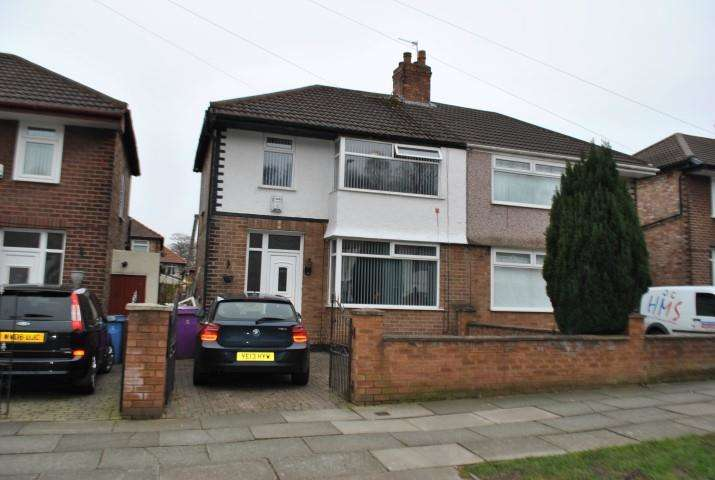 3 Bedrooms Semi Detached House for sale in Melwood Drive, Liverpool, Merseyside, L12