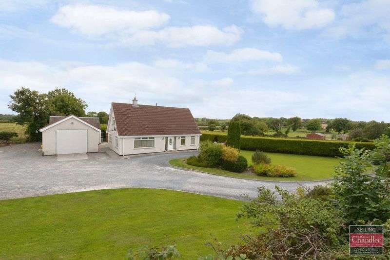4 Bedrooms Detached House for sale in 58 Rocks Chapel Road, Crossgar, BT30 9HN