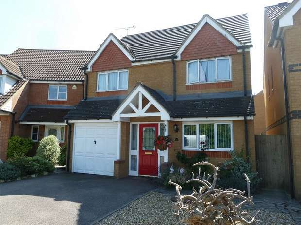 4 Bedrooms Detached House for sale in Roundel Drive, Billington Park, Leighton Buzzard