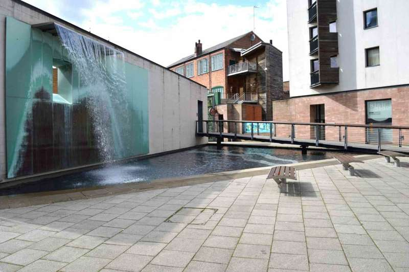 2 Bedrooms Penthouse Flat for sale in Ribbon Factory,New Buildings, Coventry, CV1