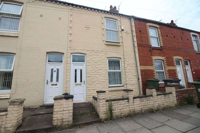2 Bedrooms Terraced House for sale in Windsor Close, New Ferry