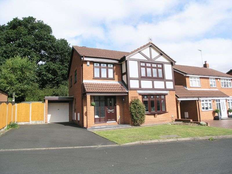 4 Bedrooms Detached House for sale in BRIERLEY HILL, Quarry Bank, Coppice Rise