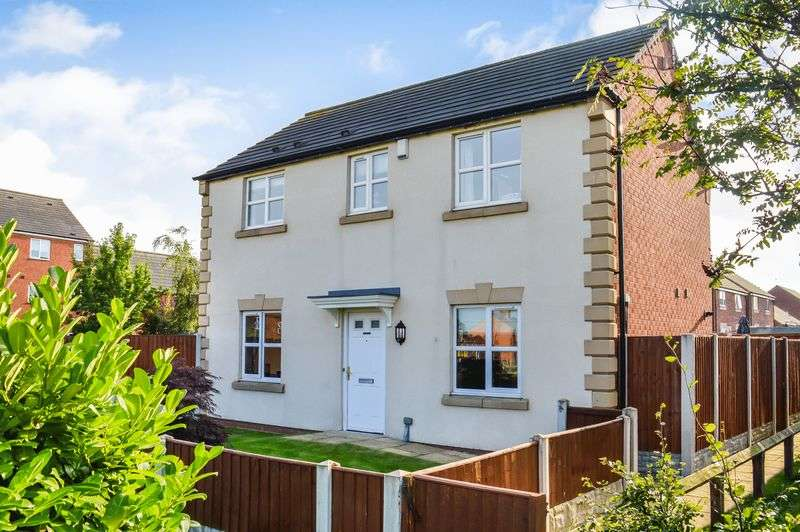 3 Bedrooms Detached House for sale in Avocet Place, Warsop Vale