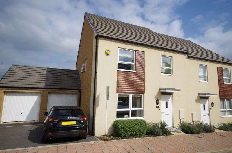 4 Bedrooms Semi Detached House for sale in Buckleys Road, Charlton Hayes, Bristol