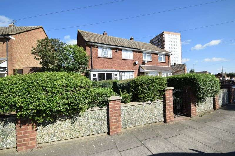 3 Bedrooms Semi Detached House for sale in Acworth Crescent, Luton