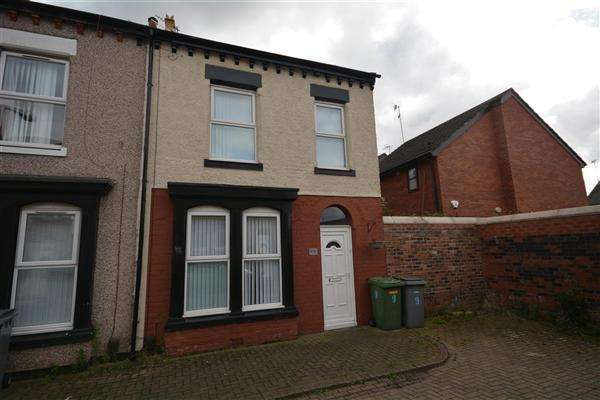 4 Bedrooms Terraced House for sale in Hamden Grove, Birkenhead