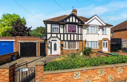 3 Bedrooms Semi Detached House for sale in Brackley Road, Bedford, Bedfordshire, .