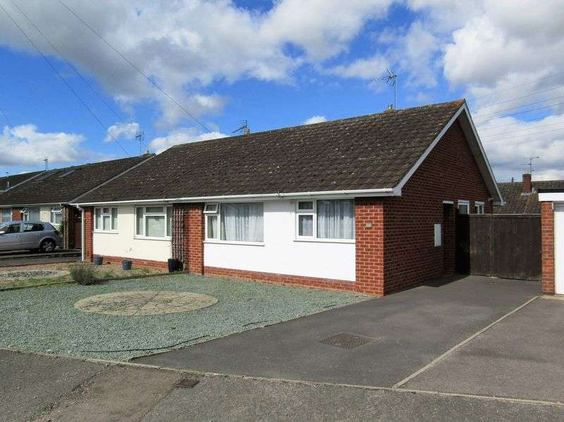 2 Bedrooms Semi Detached Bungalow for sale in Stanwick Crescent, Cheltenham
