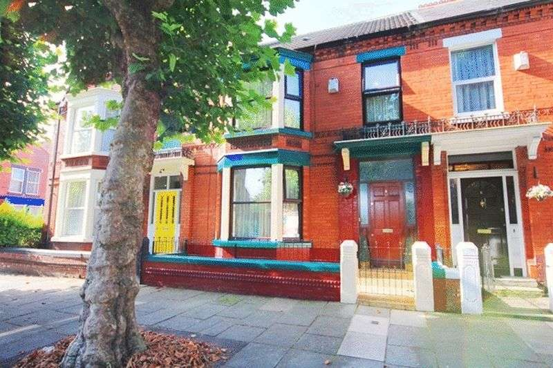 4 Bedrooms Terraced House for sale in Dovedale Road, Mossley Hill, Liverpool, L18