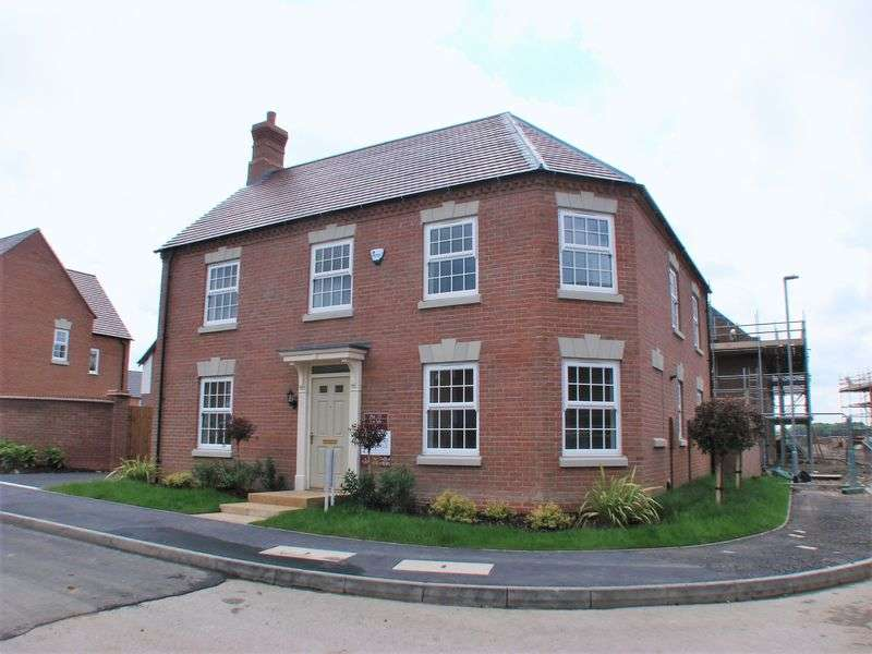 4 Bedrooms Detached House for sale in Woodgate View, East Leake
