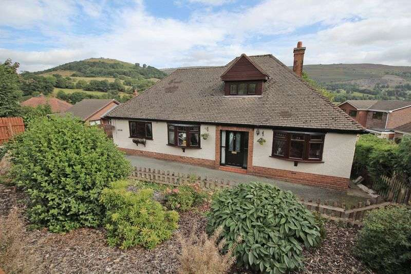 4 Bedrooms Detached Bungalow for sale in , Llangollen