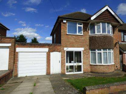 3 Bedrooms Detached House for sale in Wintersdale Road, Leicester, Leicestershire