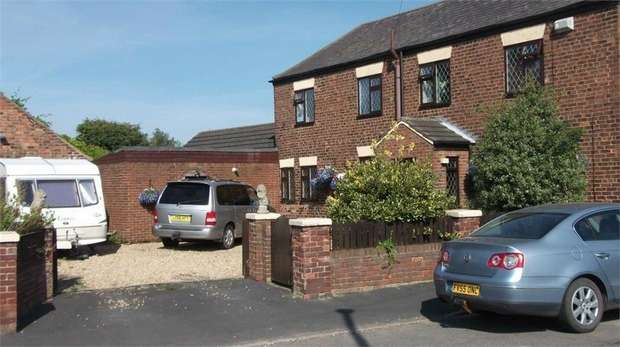 3 Bedrooms Detached House for sale in Mere Dyke Road, Luddington, Scunthorpe, Lincolnshire
