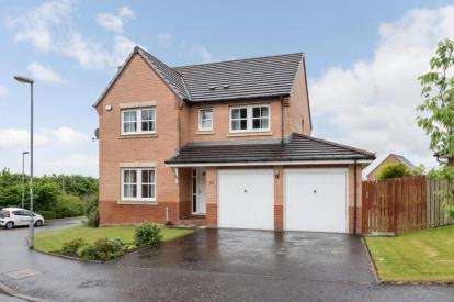 4 Bedrooms Detached House for sale in Kingsmuir Drive, Cumbernauld