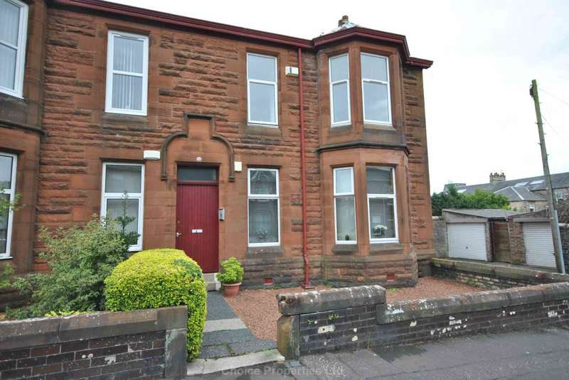 2 Bedrooms Flat for sale in Fullarton Street, Kilmarnock, KA1 2JJ