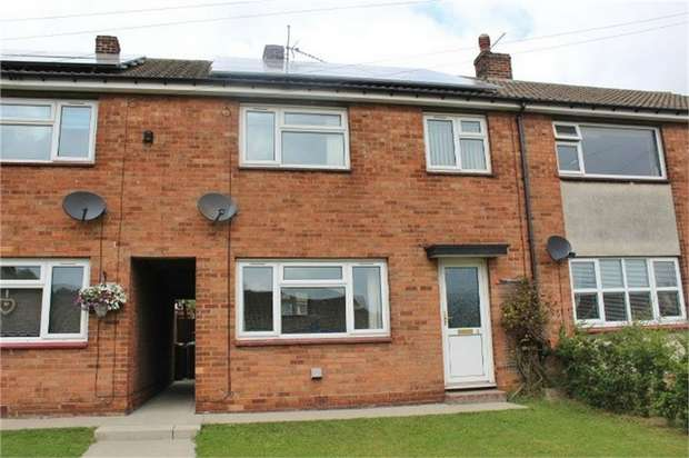 3 Bedrooms Terraced House for sale in Ransome Court, Kirmington, Ulceby, Lincolnshire